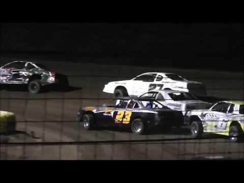 Salina Speedway Coors Light IMCA Stock car *A Feature* 6-30-17