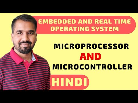 Microprocessor And Microcontroller Explained In Hindi L Embedded And Real Time Operating System