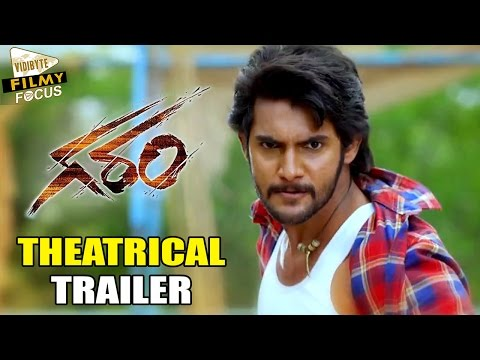 Garam Theatrical Trailer || Aadi, Adah...