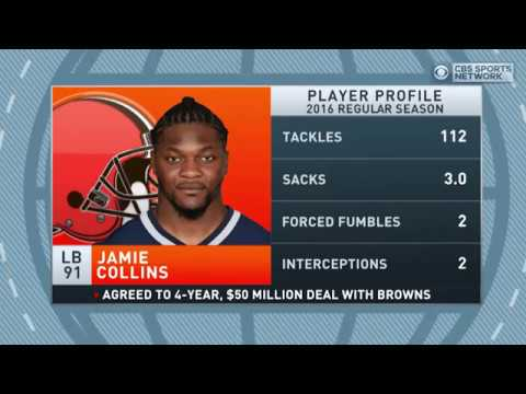 Gottlieb: Browns and Jamie Collins agree to 4 year extension