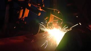 Прокатка первой трубы из заготовки ИНТЕРПАЙП СТАЛИ(Прокат первых труб состоялся в цехе по производству труб нефтегазового сортамента Интерпайп НТЗ. 12 заготов..., 2012-02-07T07:38:10.000Z)