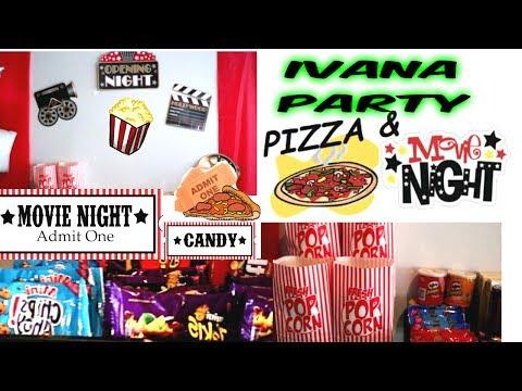 MOVIE NIGHT  EN CASA , IVANAS PARTY,