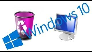 Как вернуть значок (ярлык) компьютера на рабочий стол Windows 10