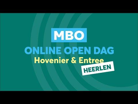 Heerlen MBO Hovenier & Entree Online Open Dag