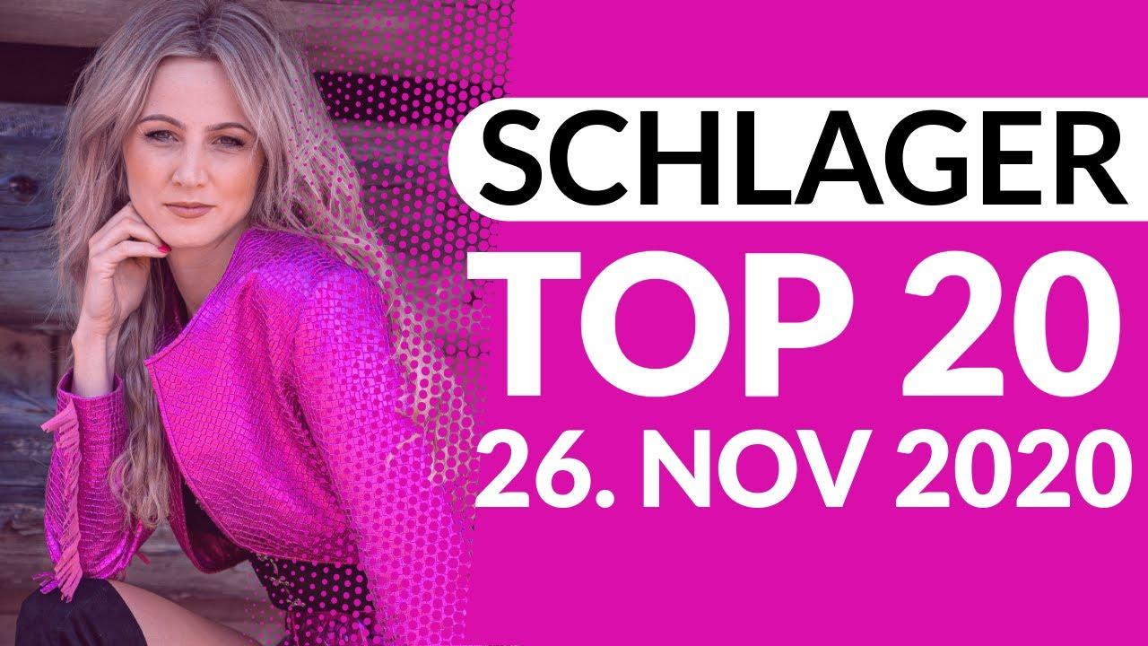 SCHLAGER CHARTS TOP 20 - Die Wertung vom 26. November 2020