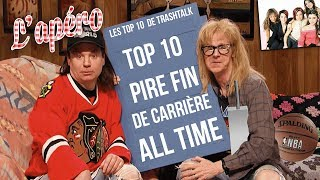 Top 10 pire fin de carrière all-time