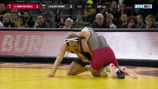 157 LBS: #4 Kaleb Young (Iowa) vs. John Van Brill (Rutgers) | Big Ten Wrestling