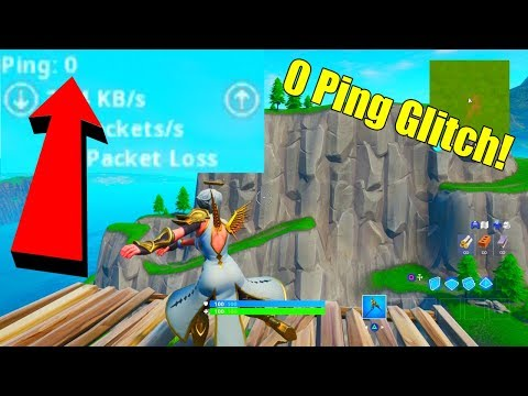 *NEW* How To Get 0 PING In Fortnite Season 10! (0 PING GLITCH)