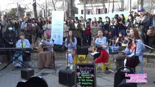2015.03.22 씨엘씨.CLC (Crystal Clear).Rolling In The Deep (Adele).홍대놀이터
