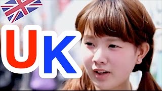 Ask Japanese about THE UK | What Japanese think of England and English people / British