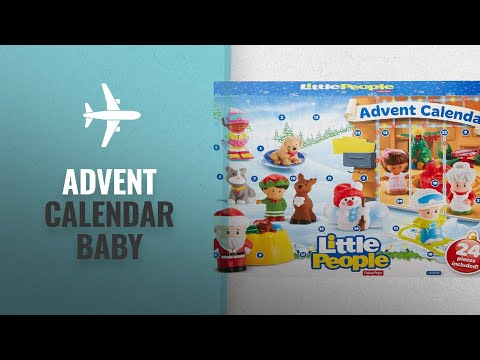 Our Favorite Advent Calendar Baby [2018]: Fisher-Price Little People Advent Calendar