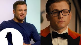 """Tarontulas!?"": Kingsman's Taron Egerton on naming his three-person fanbase"