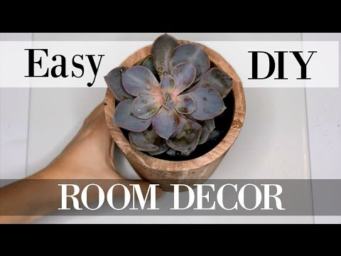TRENDY DIY ROOM DECOR | Urban Outfitters, Tumblr, + Pinterest Inspired!