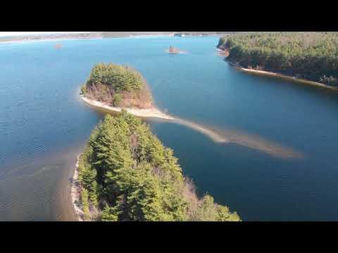 Escaping Coronavirus, Exploring The Wachusett Reservoir