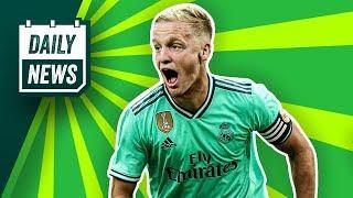Transfer News: Schalke 04 holt Todibo! Donny van de Beek zu Real Madrid? Jacob Bruun Larsen zur SGE?