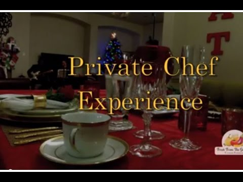 Romantic Private Chef Experience