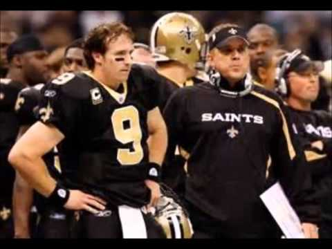 When the saints go marching in-New Orleans Saints