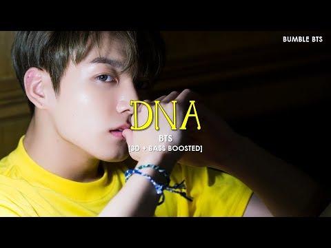 [3D+BASS BOOSTED] BTS (방탄소년단) - DNA | bumble.bts