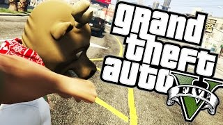 GTA 5 Online - SERIAL KILLER VS CIVILIAN - Funny Moments (Next Gen)