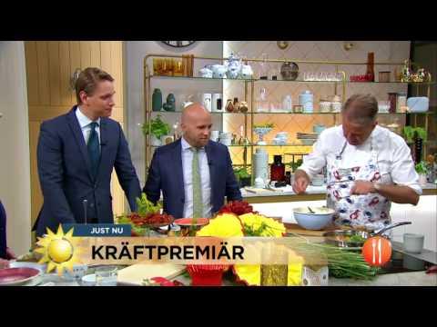 Kräfttest - så skiljer sig svenska och turkiska kräftor - Nyhetsmorgon (TV4)