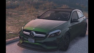 GTA PC MODS | Mercedes-Benz A45 AMG | Download Link | 60 FPS 1080p