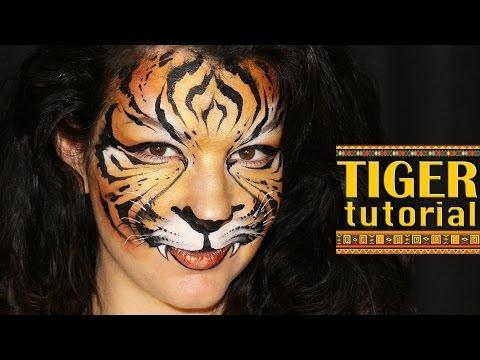 Tiger — Makeup & Face Painting Tutorial