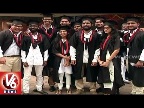 NIT 14th Convocation Ceremony Celebrations In Warangal | V6 News