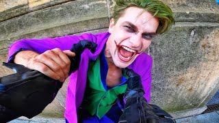 BATMAN vs JOKER - Parkour POV Chase in Real Life