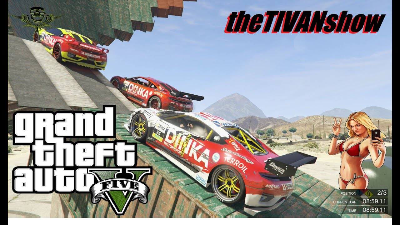 GTA 5 - RAGE ON the RACES ON GTA5 - PS4 - LIVE ON YOUTUBE