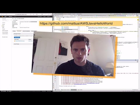 Getting started with AWS Java SDK with S3 - live demo and sample project
