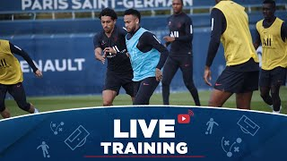 VIDEO: Les 15 premières minutes d'entraînement avant AS Monaco Paris Saint-Germain