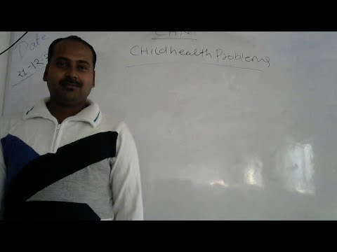 BSC 3RD & GNM 2ND YEAR - CHN- CHILD HEALTH PROBLEMS