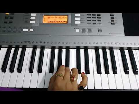 Babul Ka Ghar - Daata (1989) Mithun Chakraborty | Piano Cover by Sujata Instrumental