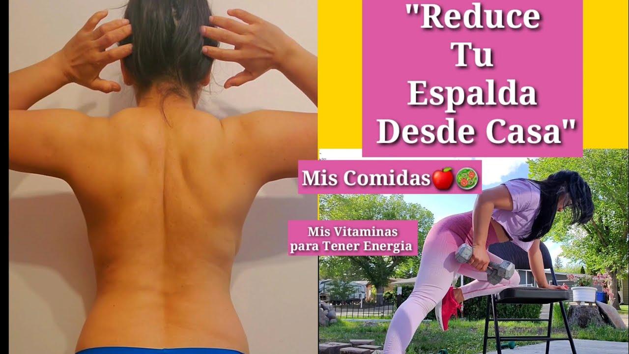 """""""Reduce Tu ESPALDA en  CASA""""(Comidas del dia /Mis Vitaminas )"""