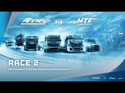 LIVE - Race 2 European Truck Racing Championship Round 5 Hungaroring 2017