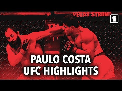 Paulo Costa / The Eraser - The Future of MMA (Highlights)