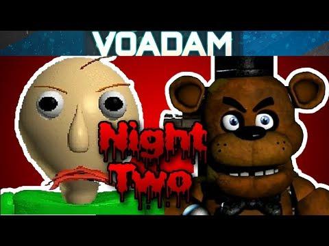Baldi Plays Five Nights At Freddy's Part 2! (Baldi's Basics VS FNAF) thumbnail