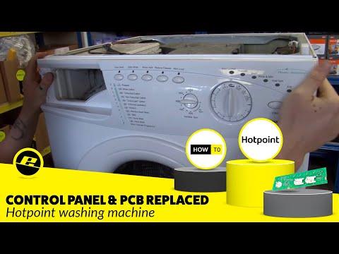 Flashing Lights On Washing Machine How To Repair Hotpoi