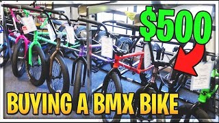 BUYING A NEW BMX BIKE  Vlog 2
