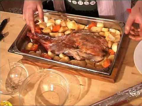 Кабан запеченный в духовке в рукаве рецепт