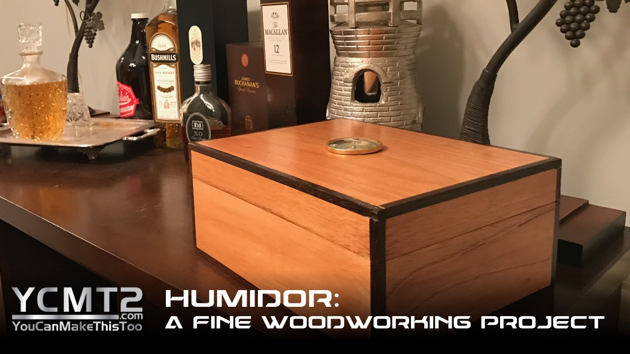Spanish Cedar Humidor A Fine Woodworking Project How To Youtube