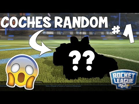 ¡JUGANDO con COCHES RANDOM! | ¡COCHES RANDOM en ROCKET LEAGUE #1! PabloX_CS