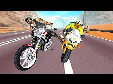 Bike Racing Games - impossible Moto Highway Redemption Race - Gameplay Android free games