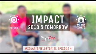 Impact of 2018 & Tomorrow - #SolarisFieldStories Episode 4