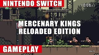 Mercenary Kings Reloaded Edition Nintendo Switch Gameplay