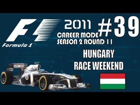F1 2011 Career [S2]: 39. Hungary Race Weekend