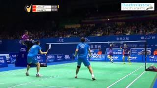 [Highlights] 2014 Badminton China Masters WDF Luo Ying Luo Yu vs Huang Ya Qiong Yu Xiao Han