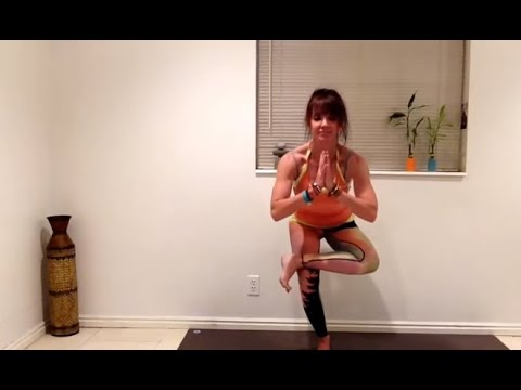 Yoga: Figure Four / Eka Pada Utkatasana deep hip stretch with options