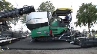 Straßenbau Inline Pave + Armierungsgitter