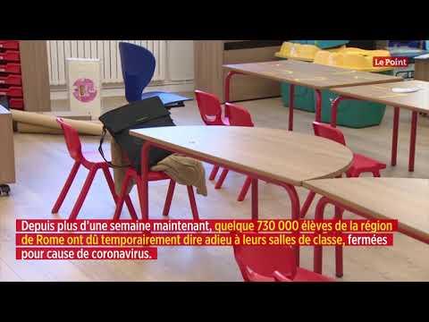 Coronavirus en Italie: école à la maison et flash mob musicale